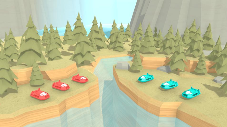 TRL - Forest Clash Screen