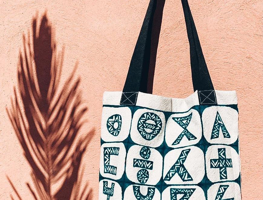 Tifinagh Canvas Tote Bag