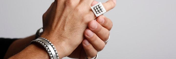 Amazigh Braided Ring