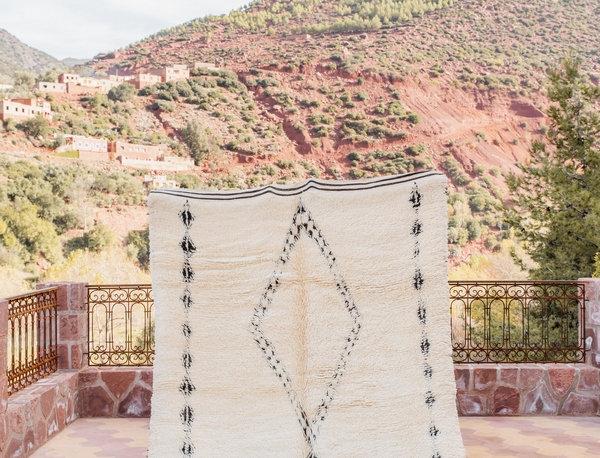 Handmade Berber Diamond Motif Rug