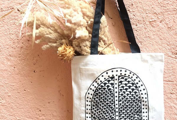 Moroccan Doors Canvas Tote Bag