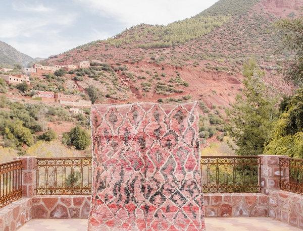 Vintage Lozenges Talsint Carpet