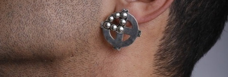 Plus Studs Earrings