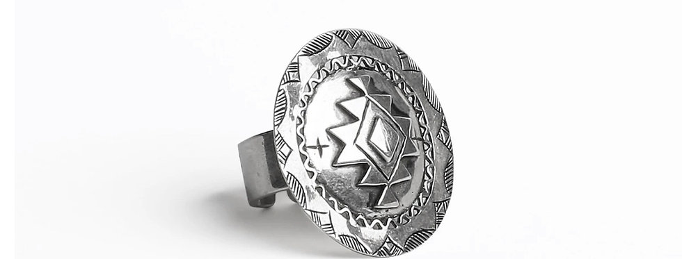 Amazigh Medallion Ring