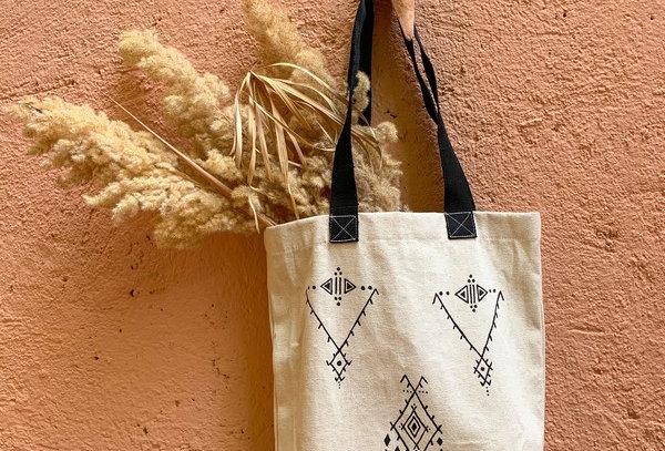 Tit Tamazight Canvas Tote Bag