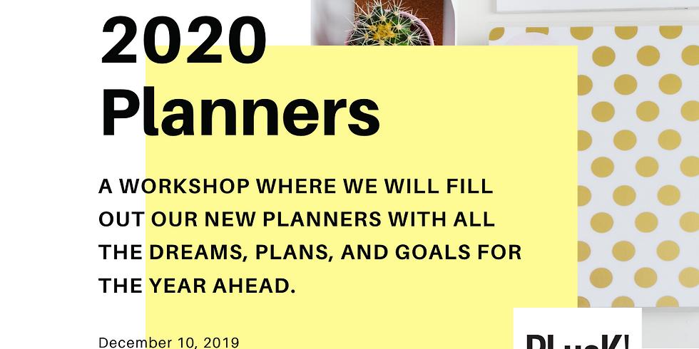 2020 Planner Workshop