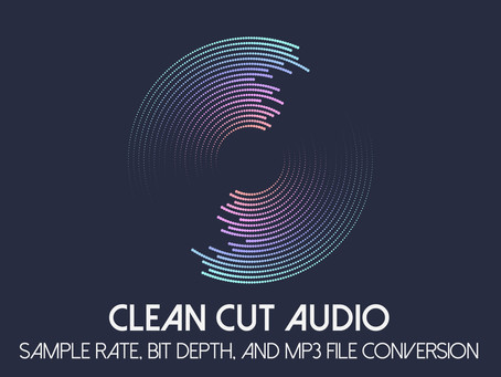 17. Sample Rate, Bit Depth, and MP3 File Conversion Listening Examples