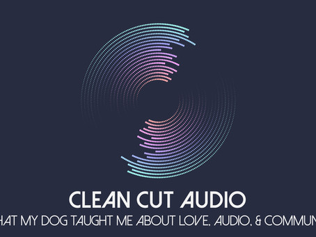26. What My Dog Taught Me About Love, Audio, and Community
