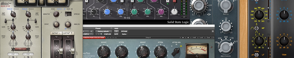 Hardware Emulated Equalization Plugins in Pro Tools
