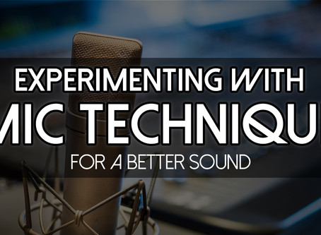 Make Your Podcast Sound Better WITHOUT Buying New Gear by Experimenting with Microphone Technique!