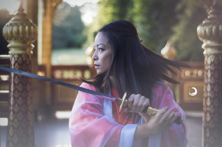 La femme Samouraï