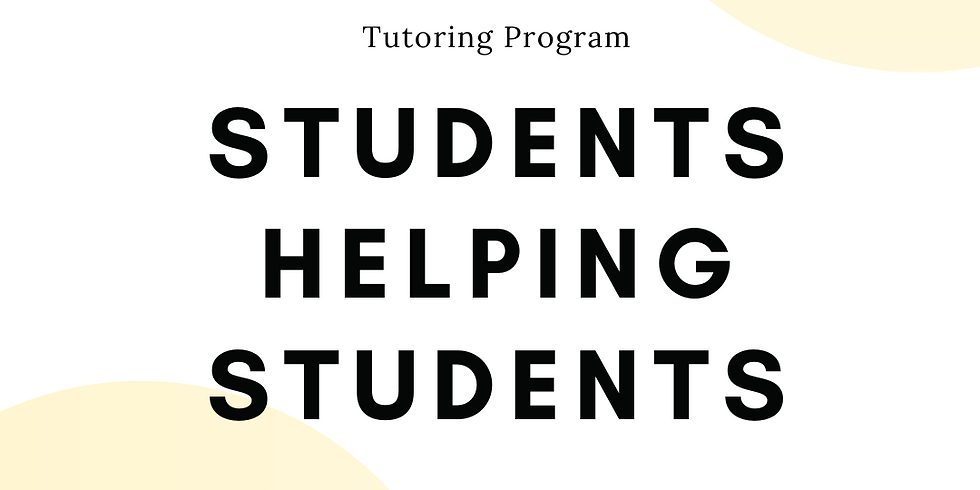 Students Helping Students