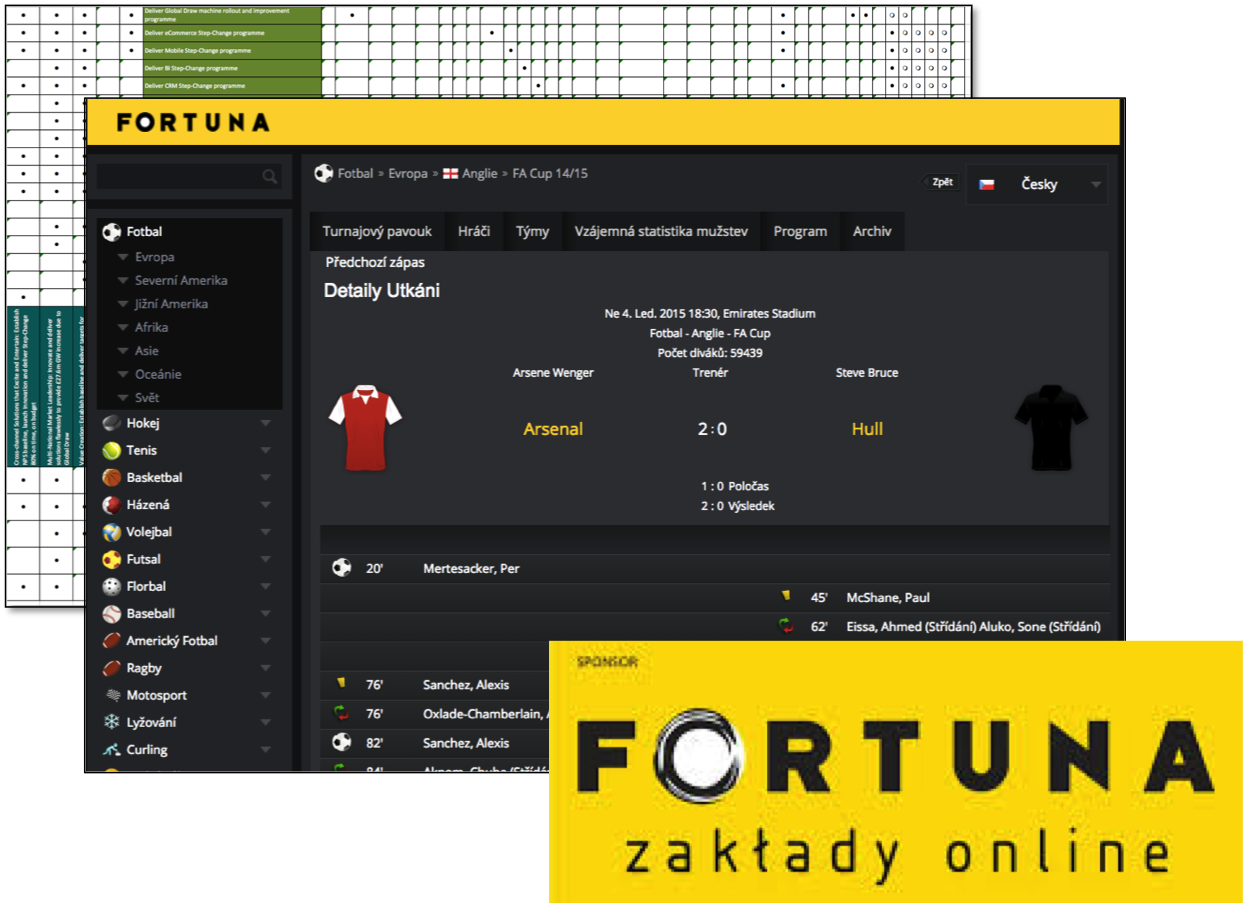 Fortuna Betting platform