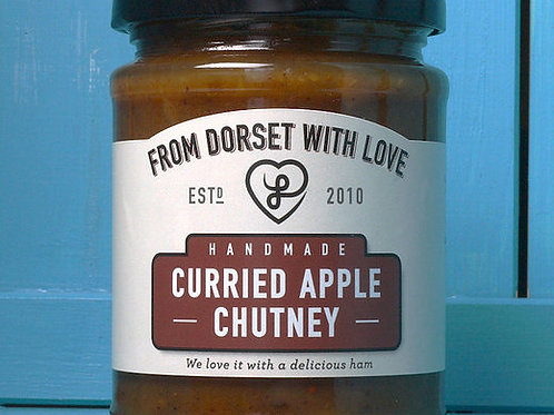 From Dorset with Love Curried Apple Chutney 300g