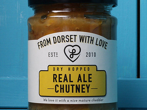 From Dorset with Love Dry Hopped Real Ale Chutney 300g