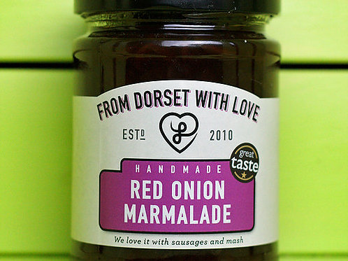 From Dorset with Love Red Onion Marmalade 340g