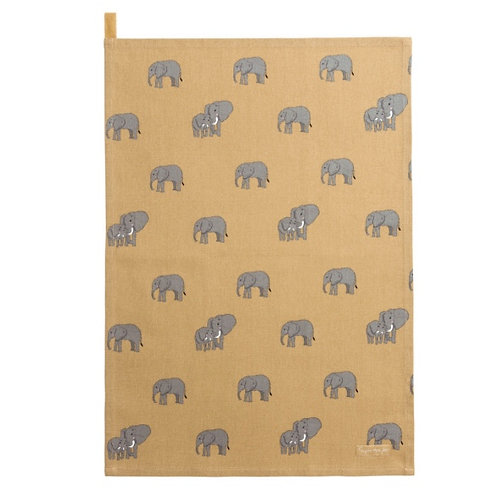 Sophie Allport Elephant Tea Towel