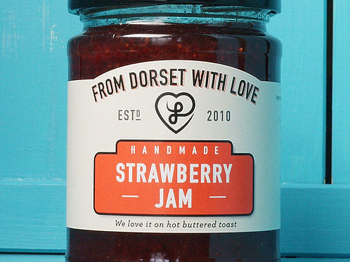 From Dorset with Love Strawberry Jam 280g