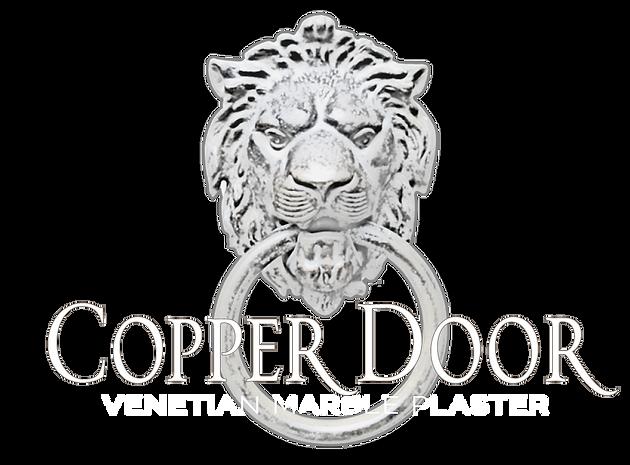 Copper Door VENETIAN MARBLE WHITE & GREY