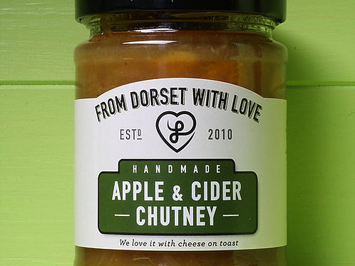From Dorset with Love Apple & Cider Chutney 300g