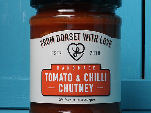 From Dorset with Love Tomato & Chilli Chutney 300g