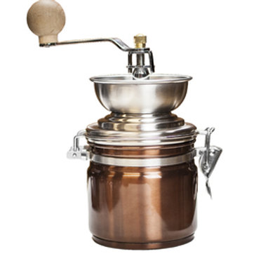 La Cafetière Copper Manual Coffee Grinder
