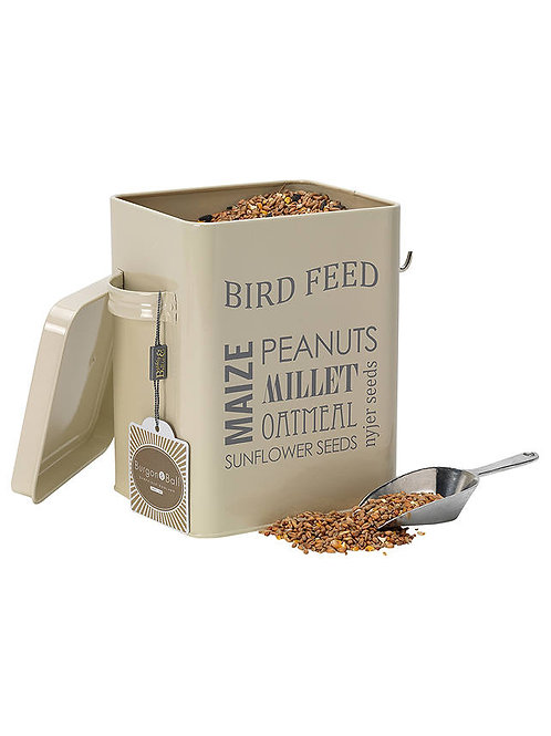 Burgon & Ball Bird Feed Tin - Jersey Cream