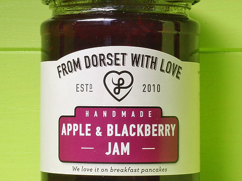 From Dorset with Love Apple & Blackberry Jam 340g