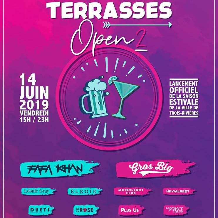 Terrasses Open