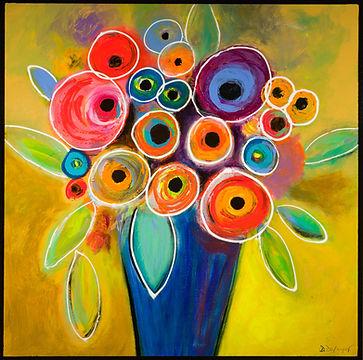 Floral Burst 30x30 Dufayet.jpg