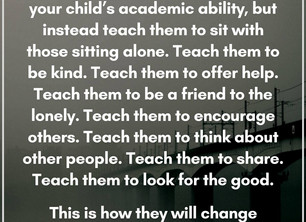 Teach Compassion First