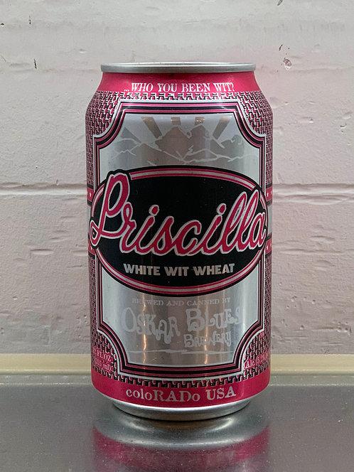 Oskar Blues Priscilla White Whit Ale