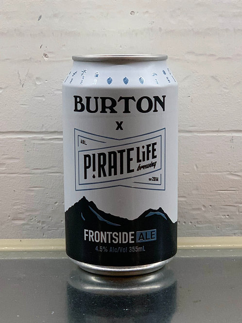 Pirate Life X Burton Frontside Ale