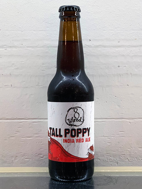 8 Wired Tall Poppy Indian Red Ale