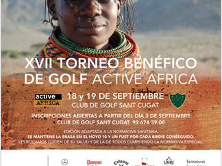 XVII TORNEO DE GOLF ACTIVE AFRICA