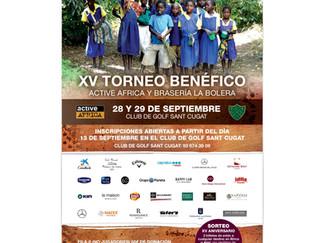 XV TORNEO DE GOLF ACTIVE AFRICA-LA BOLERA