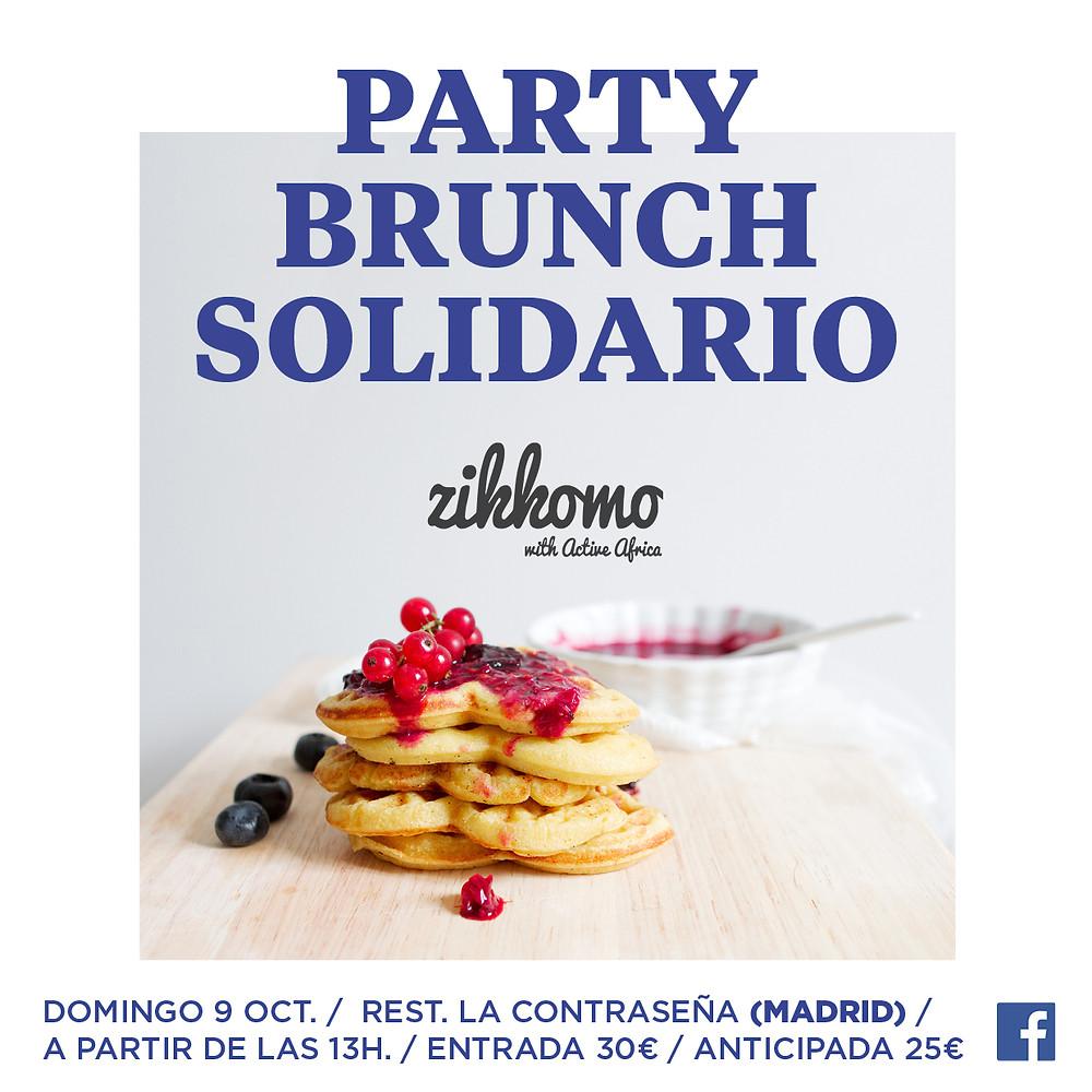 Zikkomo aterriza en Madrid!! Lo que recaudemos irá para poder  fianciar más becas de Secundaria  en MALAWI!! OS ESPERAMOS....