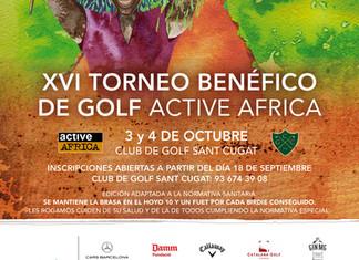 XVI TORNEO DE GOLF ACTIVE AFRICA