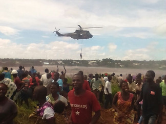Inundaciones en Malawi