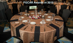 Table Set for Awards