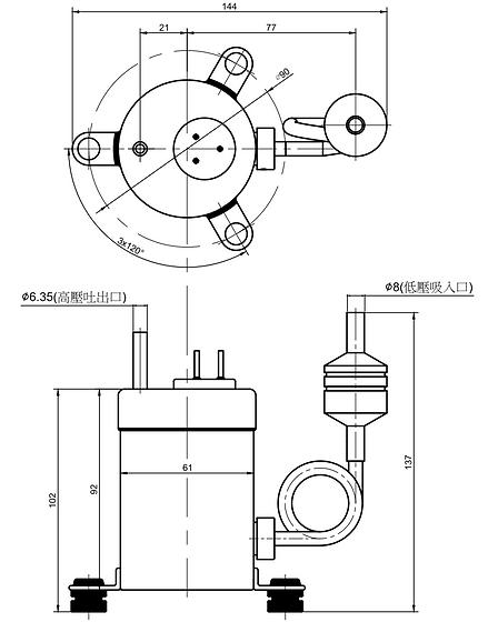 空調制冷壓縮機