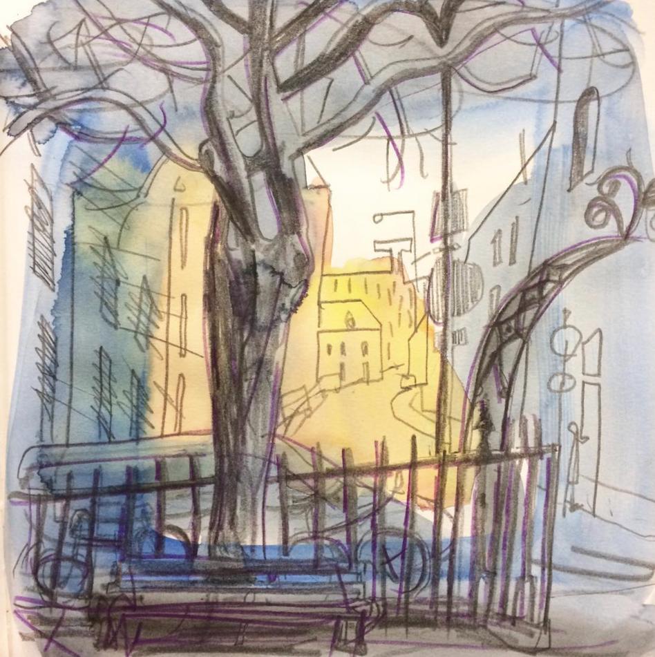 Portland Square St Pauls