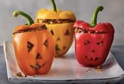 Halloween Pumpkin Peppers
