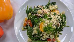 Simple vegetable couscous