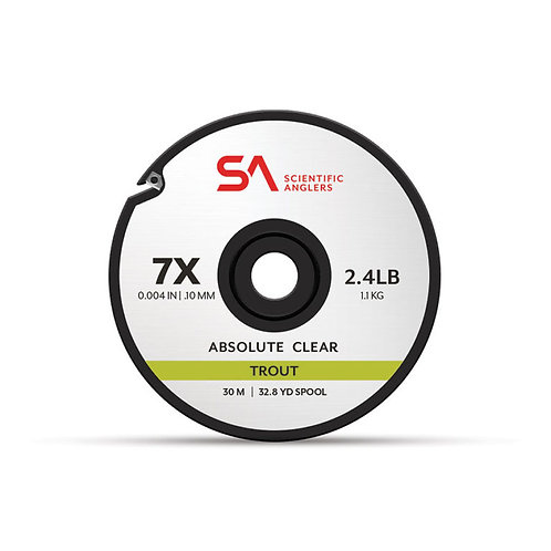 SA ABSOLUTE CLEAR TROUT TIPPET
