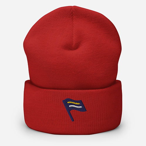 Equality Coalition Logo Flag | Cuffed Equality Beanie Hat