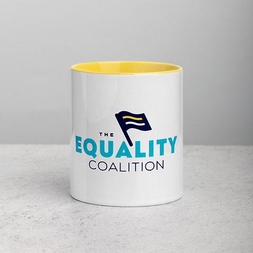The Equality Coalition Logo Mug | Equality Coffee Mugs