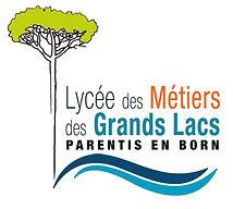 Logo du Lycée des Métiers des Grands Lacs de Parentis en Born