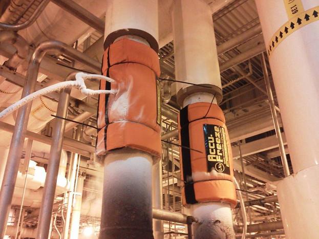 Nitrogen Freeze Plug - pipe freeze