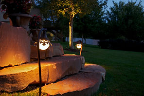 outdoor lighting, landscape lighting